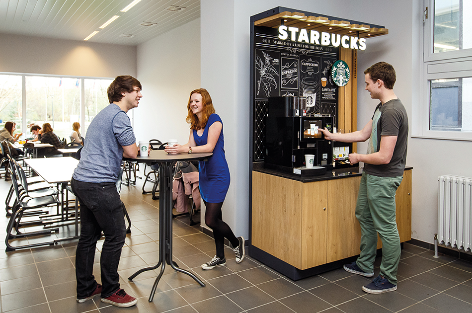 Starbucks On the go in Ihrer Bildungseinrichtung