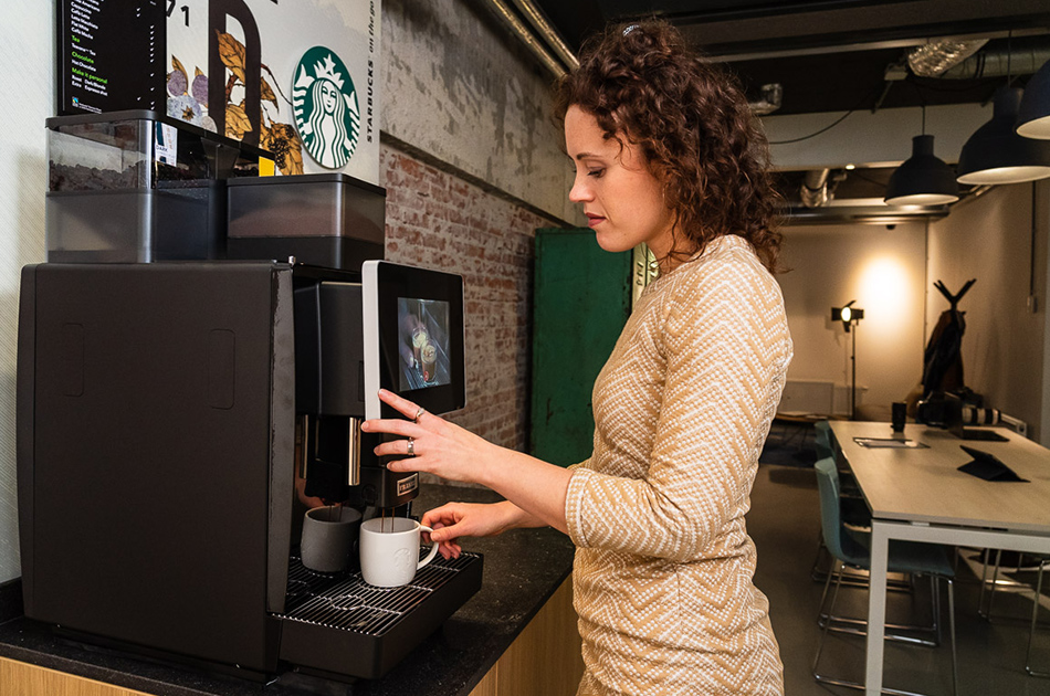 Starbucks on the go Workplace - Enjoy the Starbucks Experience